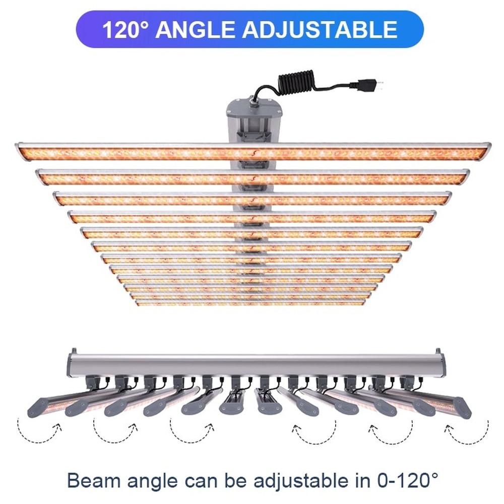 Led Light Bar Grow Lamps Dimmable Full Spectrum SMD3030 White Red 720W 2.7umol/J HPS Gavita Cultivo Planting Indoor enlarge