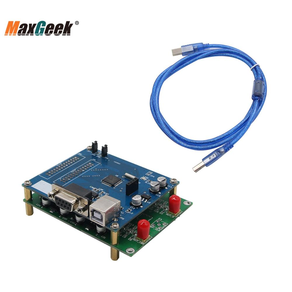 AD9910 V3 Module 1G DDS Development Board RF Signal Source with STM32 Evaluation Board support Offical Software