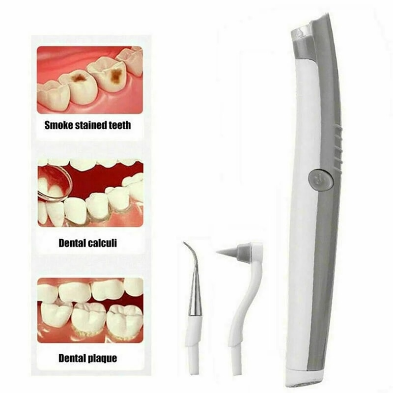 Electric Sonic Scaler To Remove Dental Stains Plaque Tartar Removal Dental Instrument Oral Cleaning Teeth Flusher Polish Agent enlarge