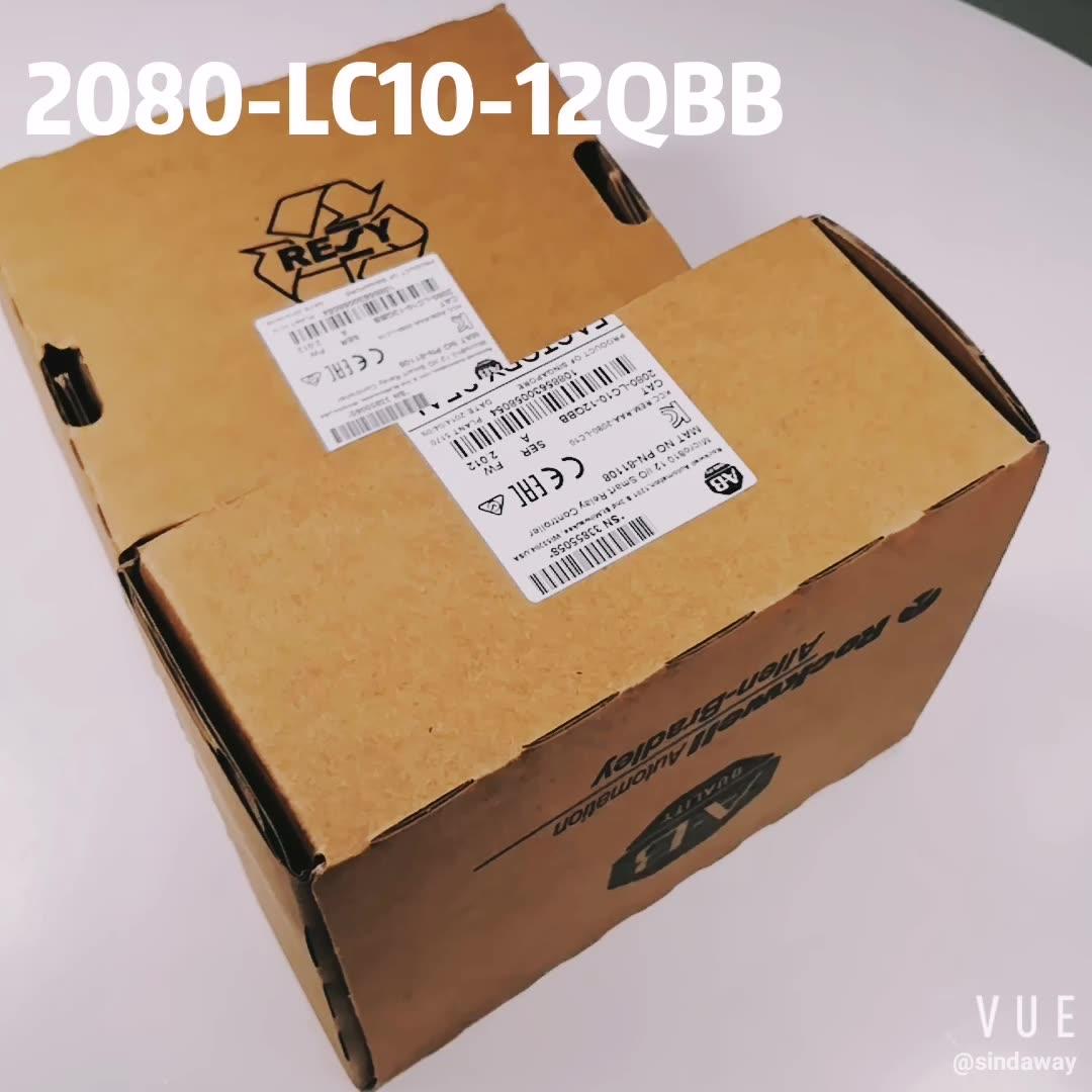 Rockwell-controlador de relé inteligente, allo-set (AB) 2080-LC10-12QBB I/O