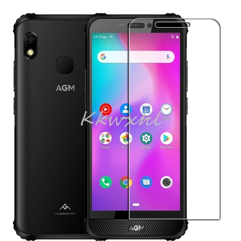 """For AGM A10 Screen Protective Tempered Glass ON H2 5.7"""" Protector Cover Film"""
