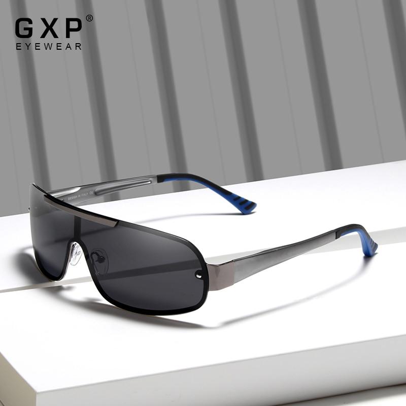 GXP 2021 Fashion Aluminum Driving Men's Pilot Glasses Polarized Sunglasses Goggle Integrated UV400 L