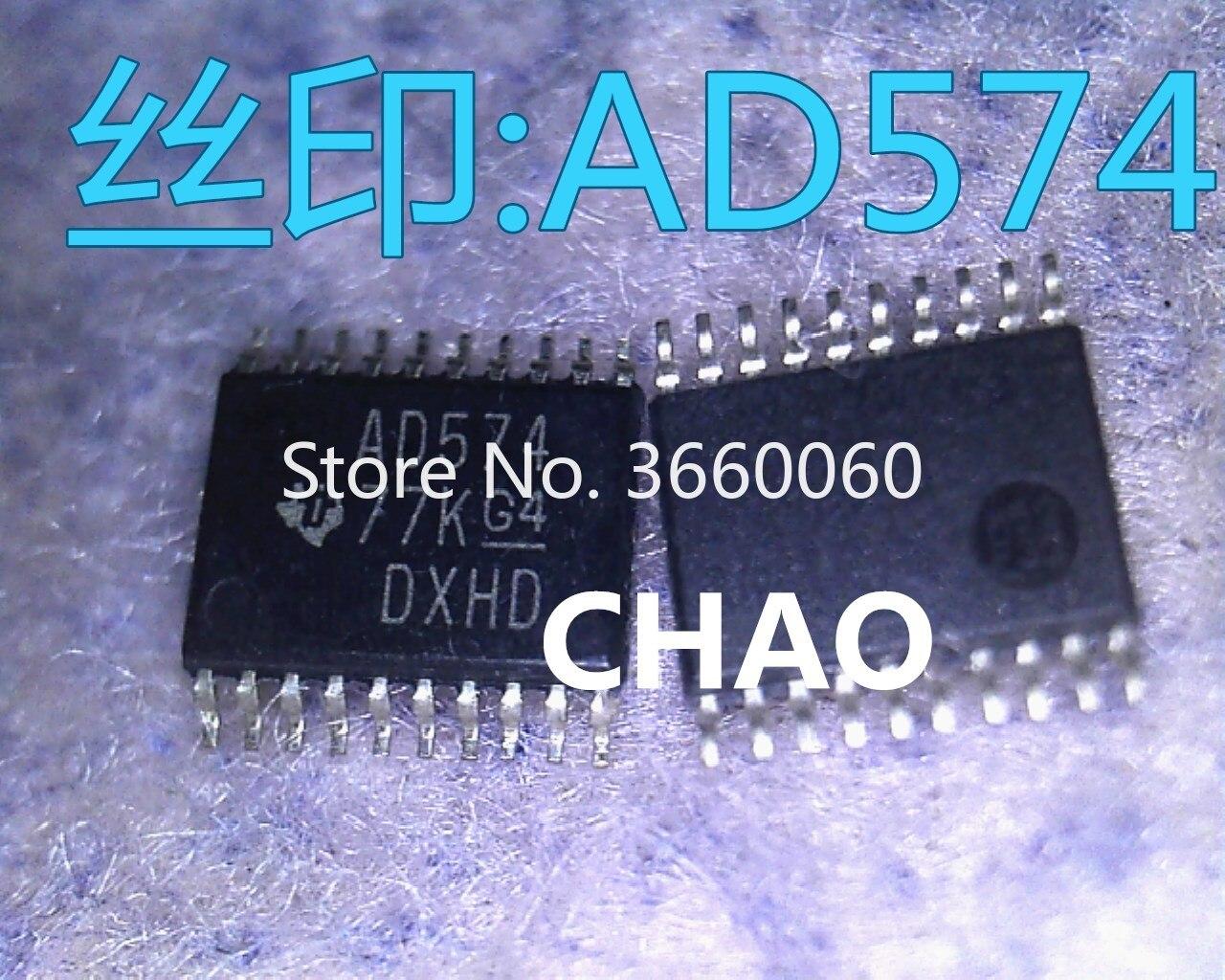5pcs/lot   SN74ACT574PW AD574 TSSOP-20