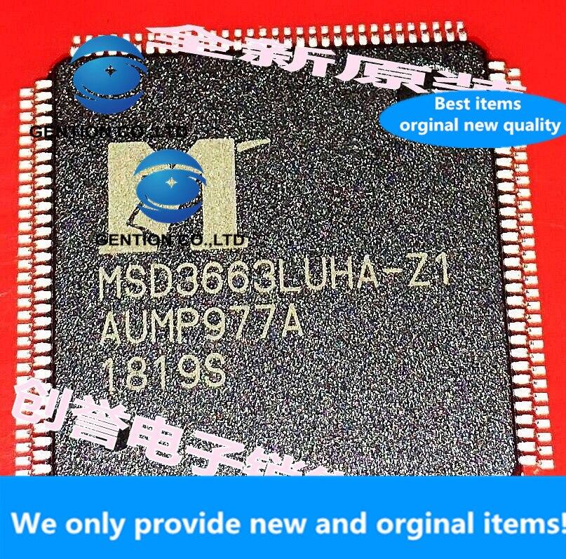 1 pces 100% original novo MSD3663LUHA-Z1 chip lcd