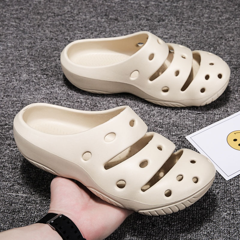 2021 New Fashion Men Slippers Designer Slides Summer Beach Sandals Clogs Man Shoes Comfortable House Slippers Women Chaussons