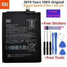 100% nouveau Original réel 4000mAh BN47 batterie avec autocollant de colle pour Xiaomi Redmi 6 Pro 6Pro/pour Xiaomi Mi A2 Lite batterie + outils