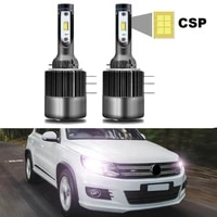 for volkswagen vw tiguan 2012 2017 led headlight bulbs h15 high low beam with day time running light