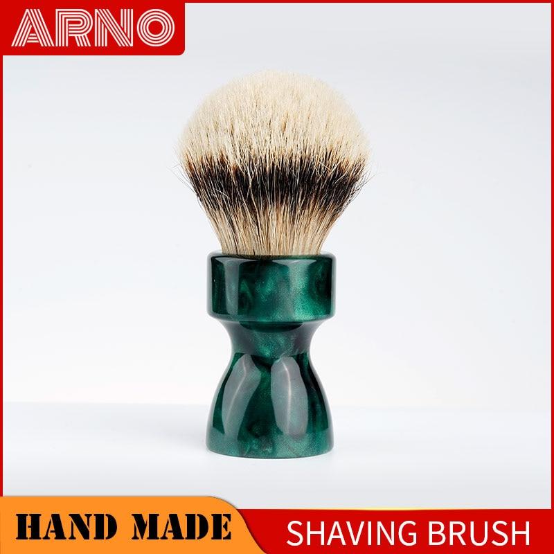 ARNOBRUSH-Shaving brush handle with badger hair knot-Camino(gerrn)