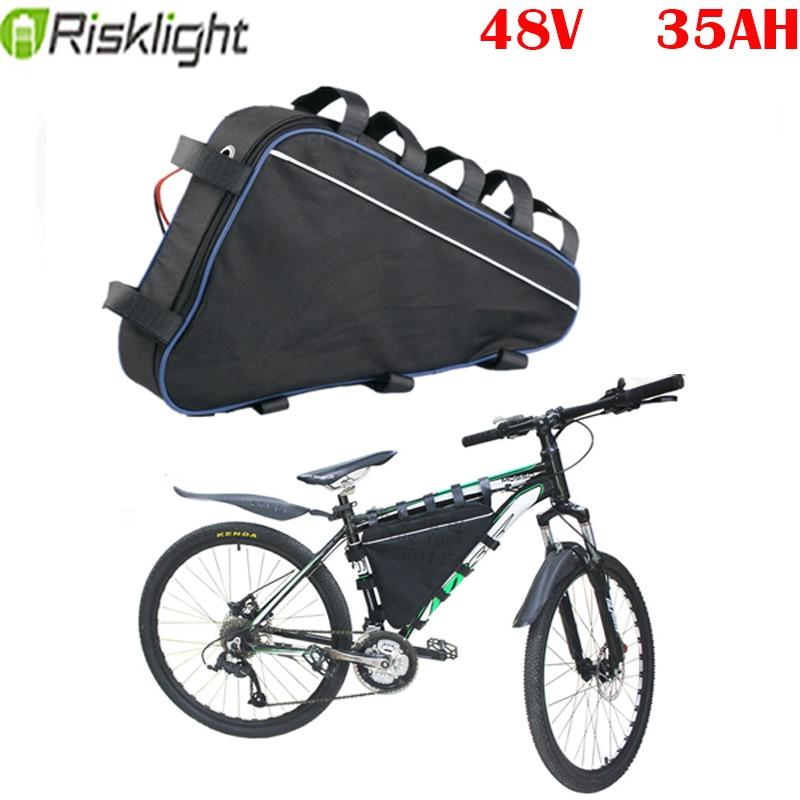 AliExpress - Triangle ebike battery 48V 2000w 1500w 1000w bafang lithium battery pack 48v 35ah electric bike battery fietsaccu  bateria ebike