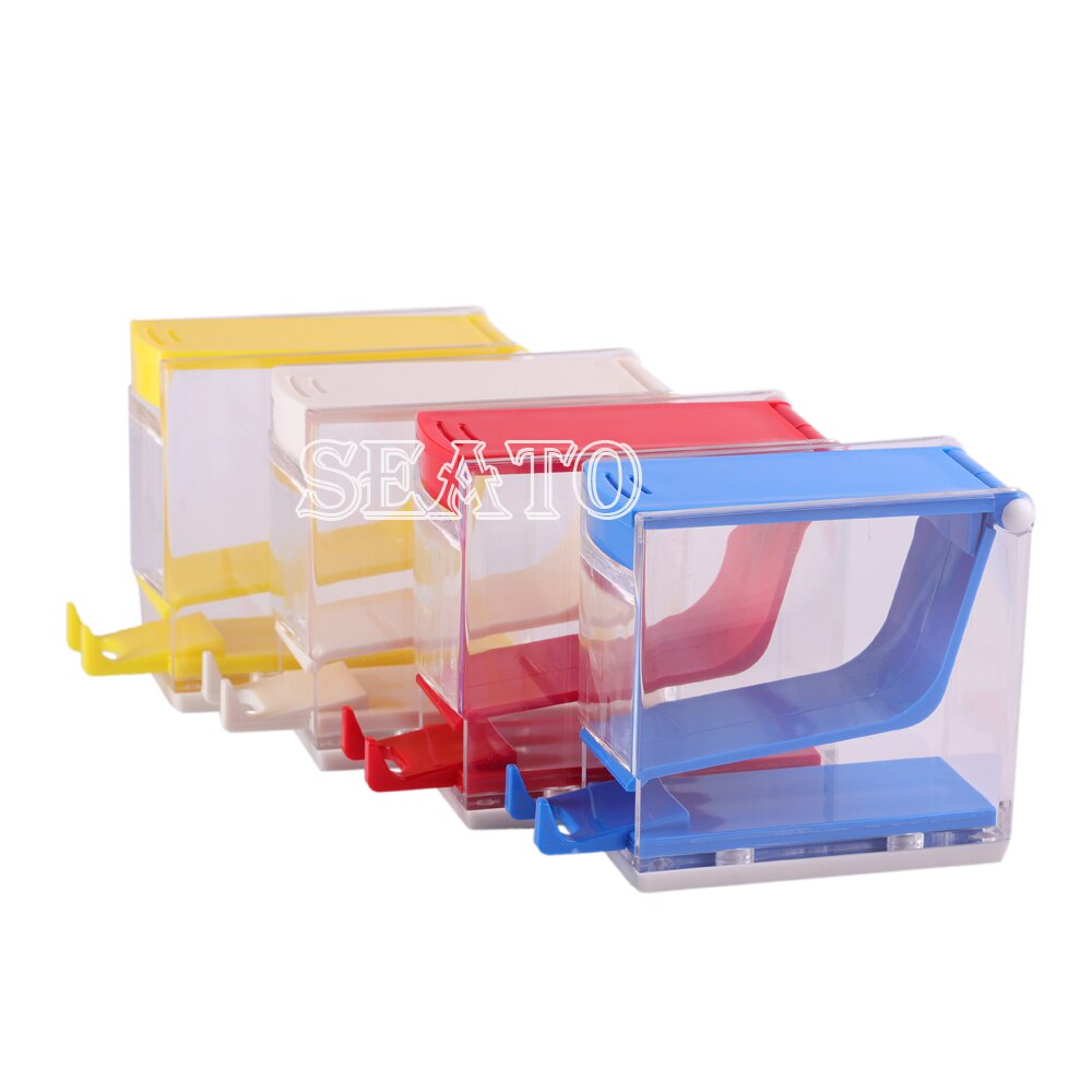 1 Pc Dental Cotton Roll Holder & Dispenser Drawer-type Dentist Lab Equipment Instrument (without cot