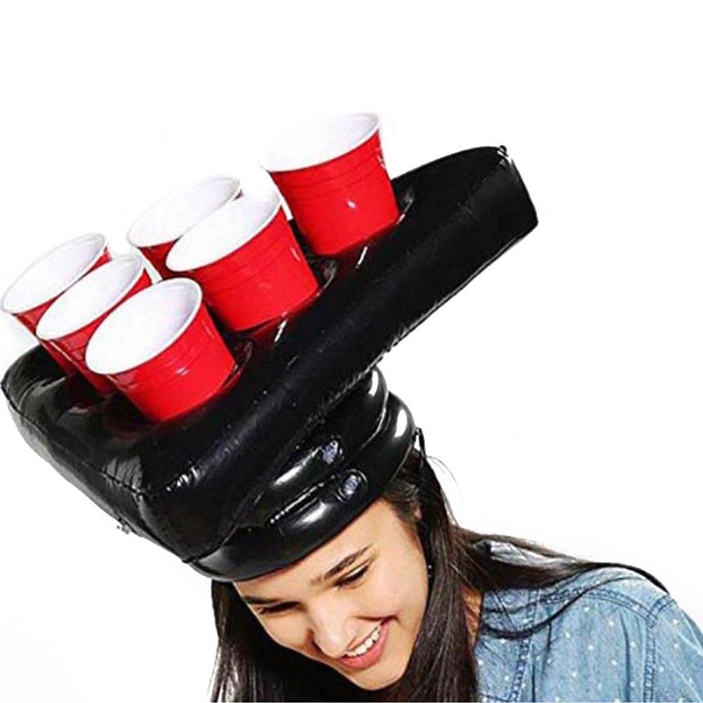 Надувной, пивной понг шляпа плавающий понг игра для плавания товары для Бассейной вечеринки пляжные надувные игрушки для детей гигантский ...
