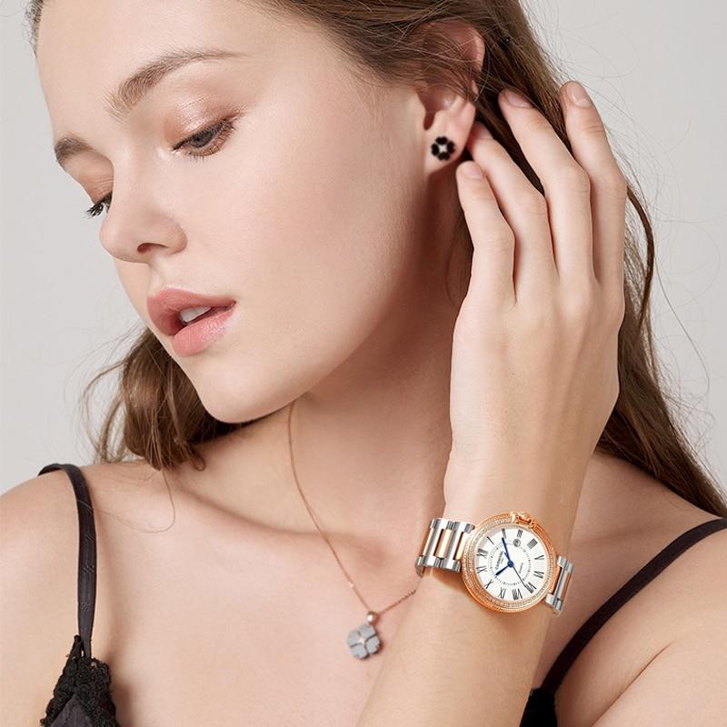 CARNIVAL Brand Ladies Fashion Quartz Watch Woman Luxury Waterproof Calendar Casual Bracelet Wristwatch Clock Relogio Feminino enlarge