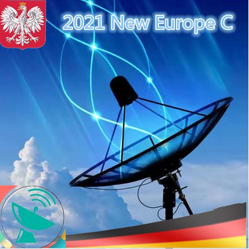 2021 Poland 4k the Most Stable TV Antenna Free Movistar for España DVB S2 Satellite Tv Receiver