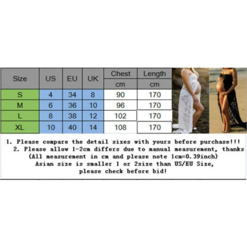 Women Clothes  Sexy Maternity Dresses For Photo Shoot Chiffon Pregnancy Dress Photography Prop Maxi Gown Dresses For Pregnant enlarge
