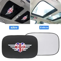 for mini cooper clubman countryman r55 r56 r60 r61 f56 car sunroof sunshade cover parasol coche sun shade uv protection cooling
