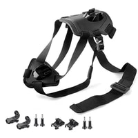 Adjustable Dog Pet Harness Back Mount Strap For Hero 8 7 6 4 3 Fetch Dog Harness Chest Strap Action Camera Accessory