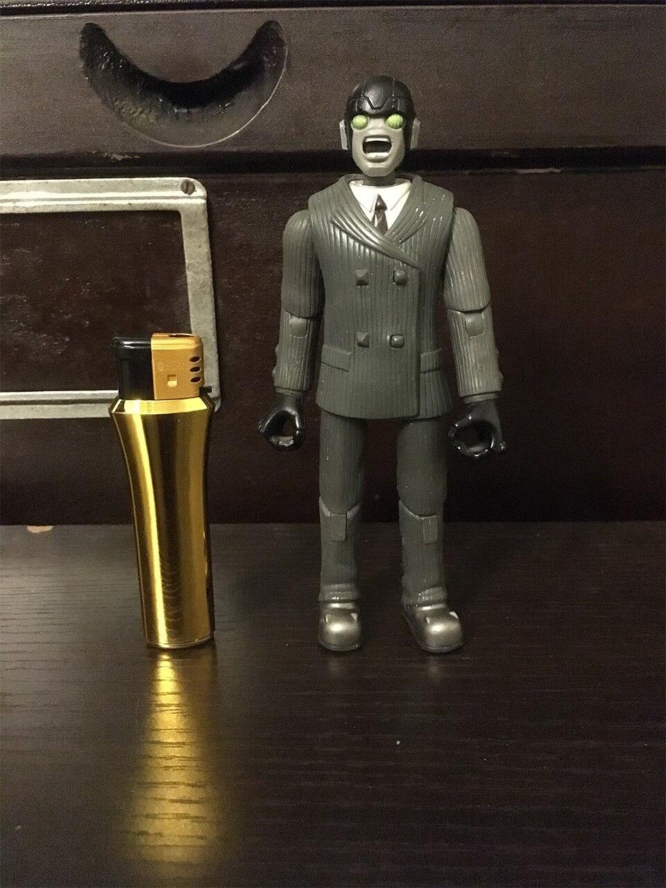 Оригинальная классическая игрушка аминовая Астро мальчик робот кукла милая ПВХ фигурка Коллекционная модель свободная игрушка без коробк...