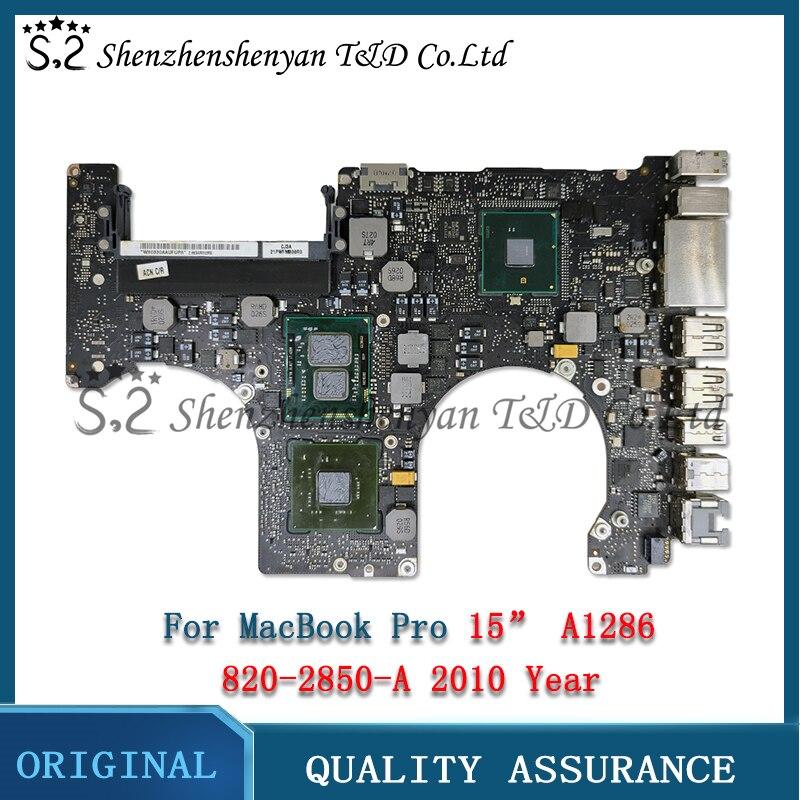 لوحة الأم Tesed A1286 لـ MacBook Pro 15.4