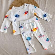 Bear Leader Toddler Casual Fall Clothing Sets Fashion Infant Girls Boys Cartoon Print Homewear Cute