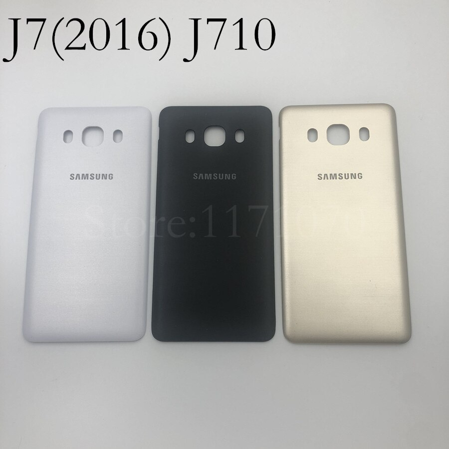 Battery Door For Samsung Galaxy J7 2016 J710 Back Battery Housing Cover Case Door Rear for SM-J710F J710M J710H J710FN