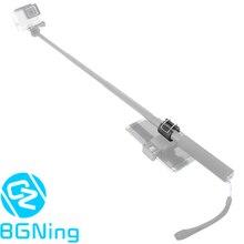 Adaptador de Clip de teléfono soporte de montaje de bloqueo palo Selfie monopie soporte para GoPro Hero 8 7 6 5 4 3 + Yi EKEN CÁMARA DE ACCIÓN PARA SJCAM