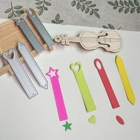 4 kinds of signs labels bookmarks metal cutting molds scrapbooks handmade cards photo albums decoration diy