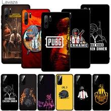 PUBG Game Logo Soft Silicone Phone Case for Huawei P30 P40 P20 Pro P10 Lite P Smart Z Plus 2019
