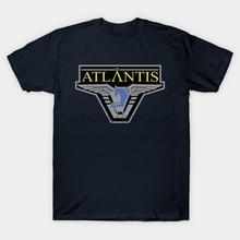 Hommes T-Shirt Atlantis Pegasus galaxie Stargate Atlantis T-Shirt femmes T-Shirt t-shirts haut