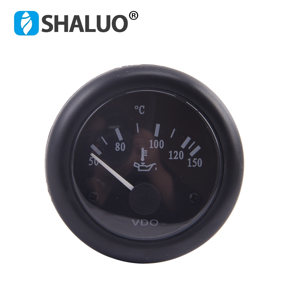 12 فولت 24 فولت الديزل مولد VDO النفط مقياس درجة الحرارة مقياس درجة حرارة الماء مقياس درجة الحرارة النفط قياس ضغط المحرك مولد متر أجزاء