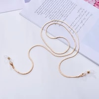 spectacles eyewear chain metal necklace glasses chain lanyard chains women accessories sunglasses hold straps cords