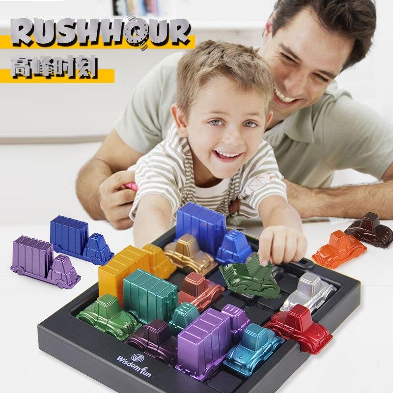 Развивающая логическая игра-головоломка, развивающая пластиковая настольная игра для детей