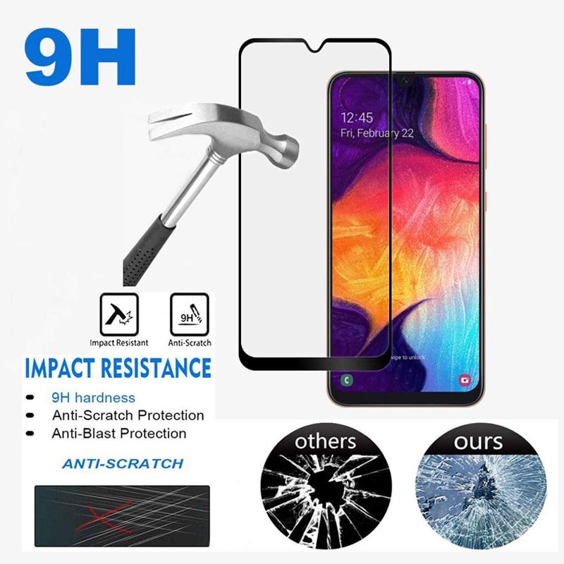 2Pcs Glass for Samsung Galaxy A70S A30S A40S A50S A20S A20e A10 A20 A30 A40 A50 A70 Screen Protector A 50 70 70S Tempered Glass