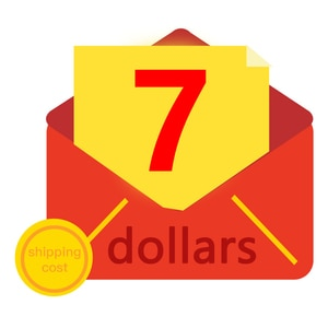 Extra fee for shipping cost with $7- ATTENTION  Just for postageor make up custom order price difference