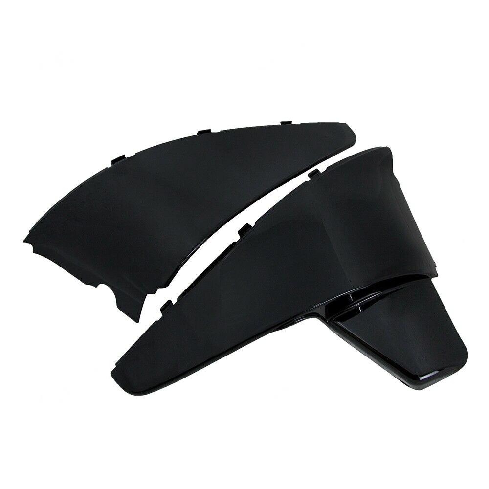 Cubierta de carenado lateral de batería negra ABS para Honda Shadow VLX 600 VT600 C STEED400