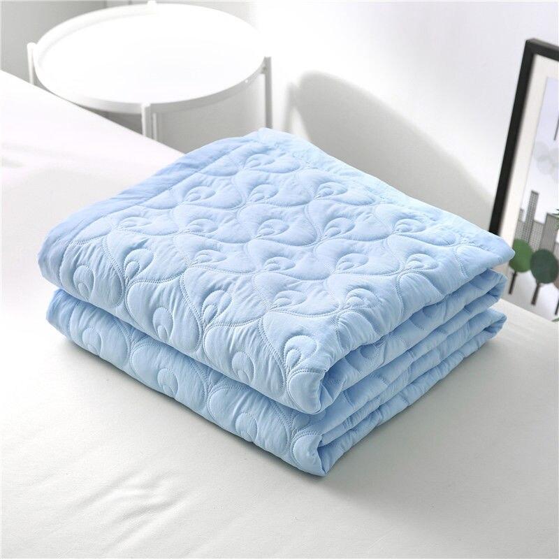 الصيف لينة مريحة النوم لحاف عشاق واحدة فراش سرائر للمنازل غطاء بطانية قابل للغسل الجلد ودية أريكة سرير Nap لحاف