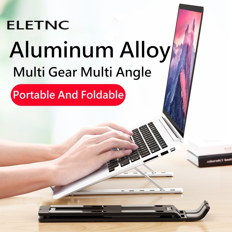 Portable Laptop Stand Adjustable For Macbook Computer Tablet Foldable Notebook Stand Cooling iPad Al