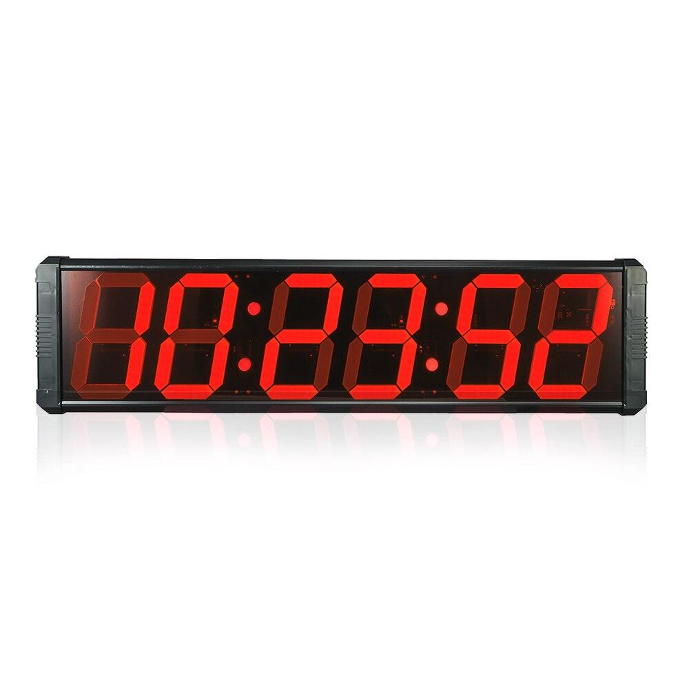 Temporizador de Contagem Relógio de Tempo para a Reunião do Mercado de Fábrica Grande Digital Regressiva Cronômetro Relógios Modernos Led