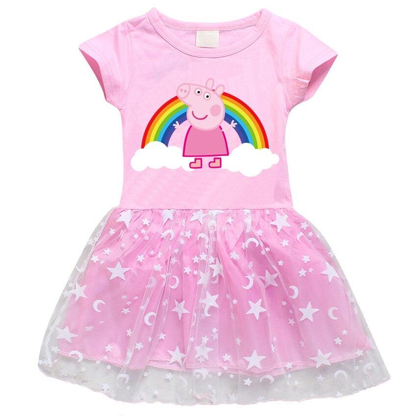 Peppa Pig оригинальная модель игрушки милые детские платья для девочек милые платья для девочек игрушки peppa pig оригинальные куклы подарок