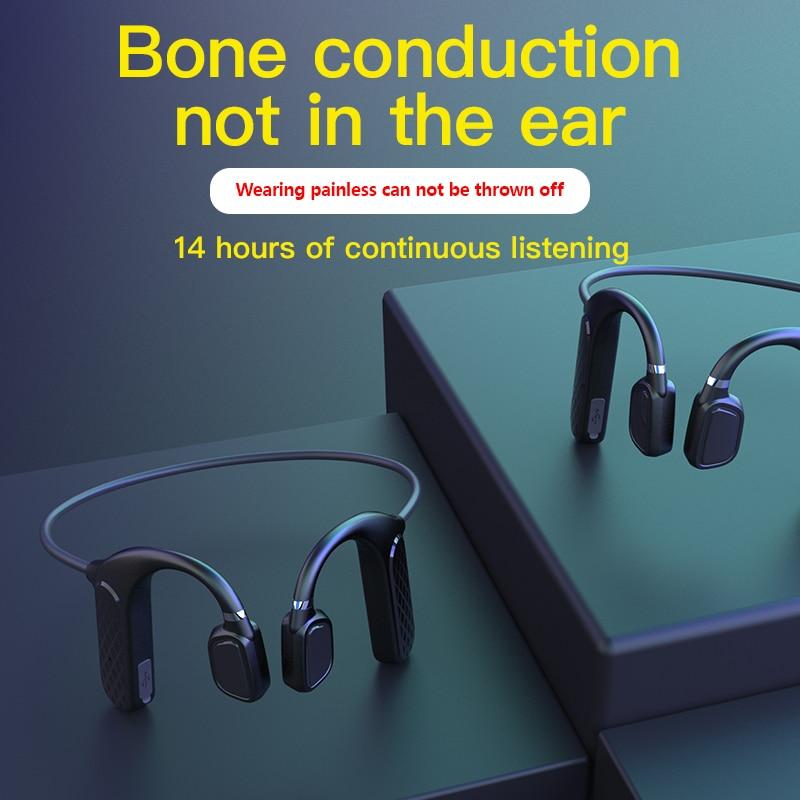 Bluetooth Headphones MD04 with Bone Conduction Earphones Earphone Waterproof Wireless Headset Sport