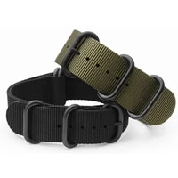for suunto core nylon diver watch strap band kit w lugs 5 ring pdv clasp 20 22 24mm zulu for nato g10 tools
