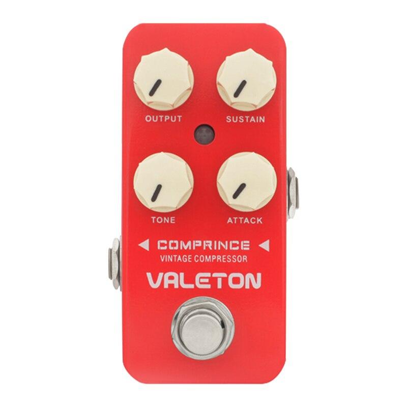 Pedal VALETON CORAL COMPRINCE Vintage, compresor, efecto guitarra