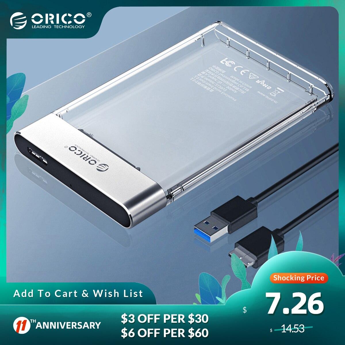 ORICO Transparent HDD Housing 2.5