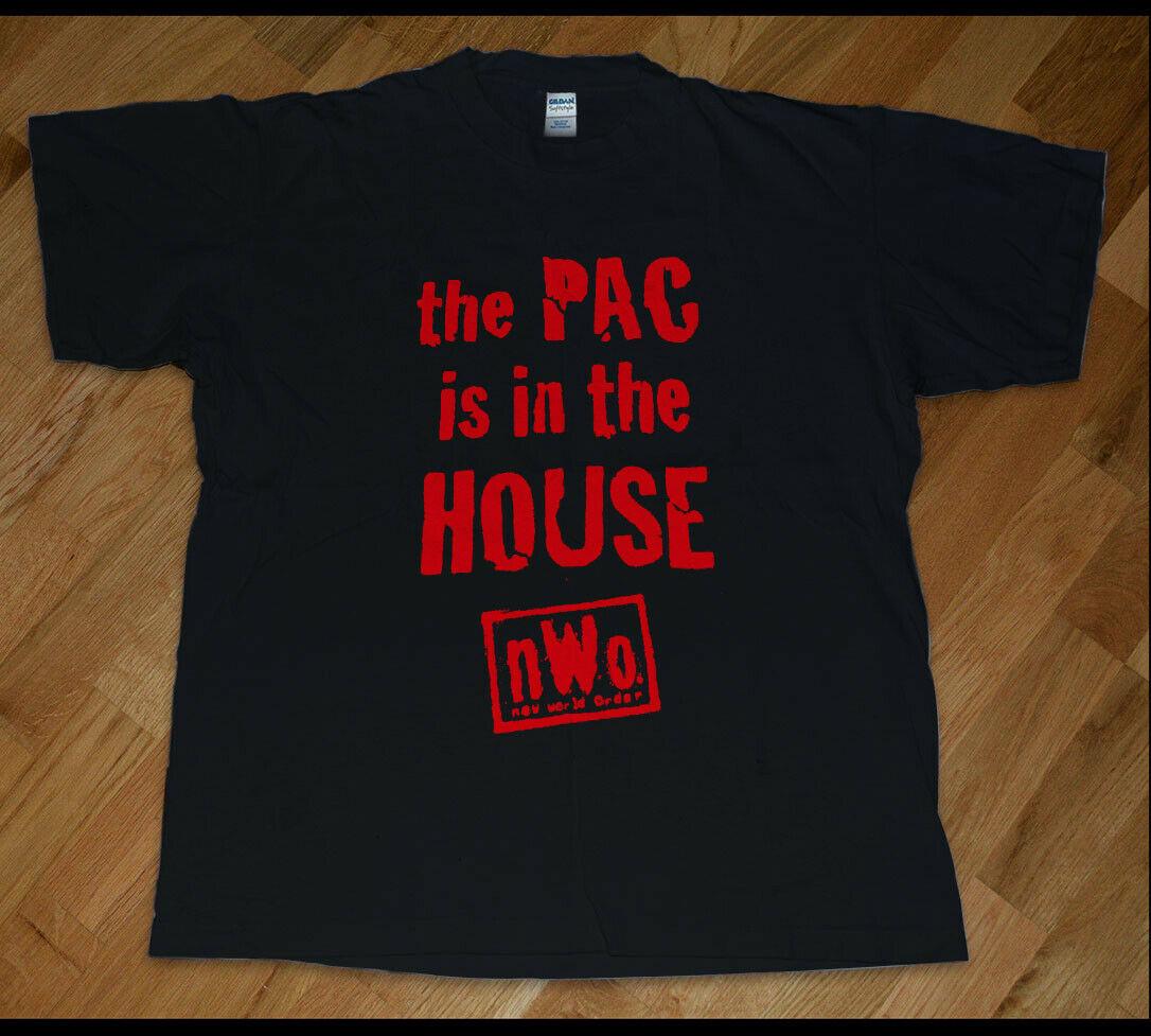 Vintage nwo pac está na casa nova camisa t