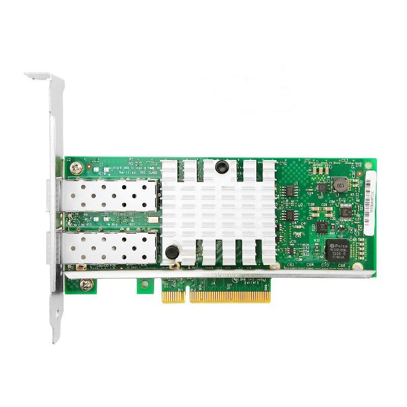 X520-DA2 10G SFP + dualport PCIe 2,0x8 Intel 82599ES чип Ethernet сетевой адаптер