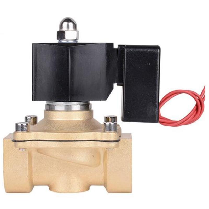 صمام الملف اللولبي الموفرة للطاقة DN20 6 نقاط تنشيط ، لا الحرارة ، مقاوم للماء التحكم الإلكتروني الصرف