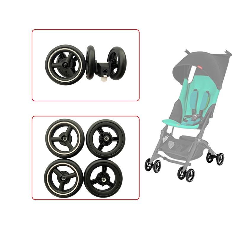 Колеса для коляски для детской тележки серии Goodbaby Pockit D666 D668 Pockit 2S/3S/3Q/SA GB, аксессуары для детской тележки, передняя и задняя шины
