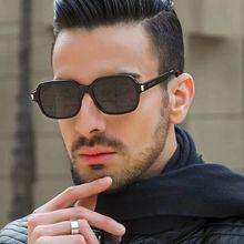 New Fashion Frame Sunglasses Men Square Metal Sun Glasses Women Retro Oval Sun Glasses High Quality
