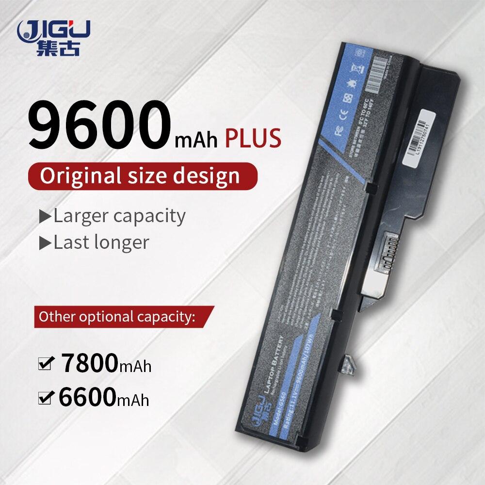 JIGU بطارية كمبيوتر محمول لينوفو IdeaPad G475 G560 G565 G570 G575 G770 G460 G465 G470 Z460 L09M6Y02 L10M6F21 L09S6Y02 LO9L6Y02