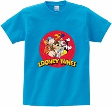 2019 NEW Looney Tunes 태즈 메이 니아 악마 죄송합니다. T 셔츠 프린트 T 셔츠 아동용 반팔 핫 여름 베이비 보이 셔츠