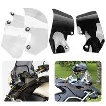 1 paire moto pare-brise Extension Spoiler pare-brise déflecteur dair pour BMW R1200GS Adventure 2004-2012 moto pièces